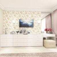 Визуализация трельяжа в спальне